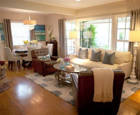 Decorating Ideas For Living Room Dining Room Combo by Rectangle Living Room Dining Room Combo Narrow Living