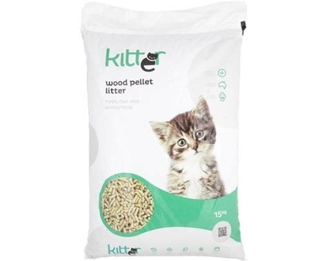 kitter wood pellet litter kg kitter