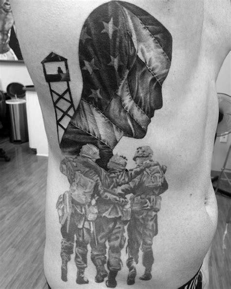 pow mia tattoo designs  men veteran ink ideas