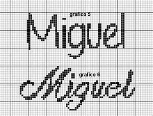 Monograma Ponto Cruz Miguel