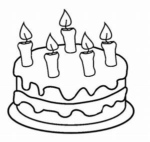 Anniversary Cake Coloring Pictures Coloring