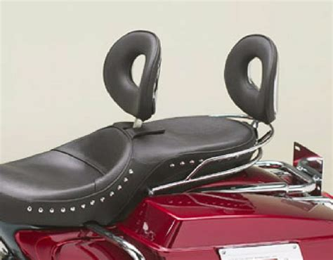 Corbin Seat Backrest Ovalbac Pillion Or Rider Standard Model