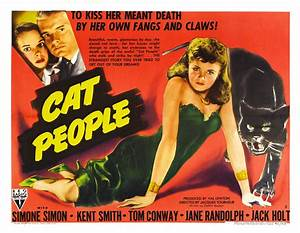Cat People Ii - Vintage 1940s Movie Posters
