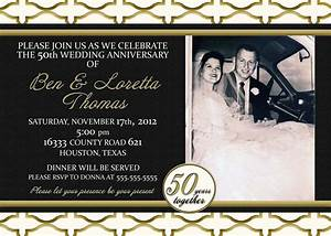black and gold invitation card for romantic wedding With black and white wedding anniversary invitations