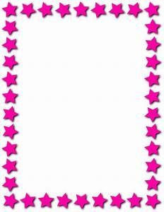 star frame pink - /page_frames/star_border/star_frame_pink ...