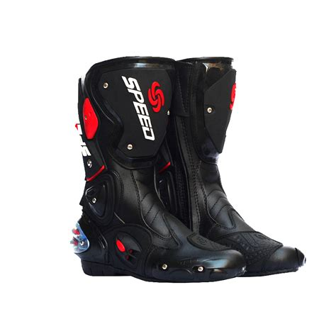 white biker boots pro biker speed bikers motorcycle boots moto racing