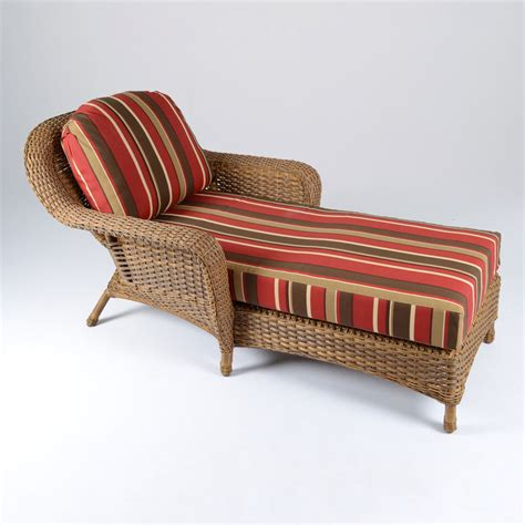 rattan chaise lounge outdoor shop tortuga outdoor mojave wicker patio chaise