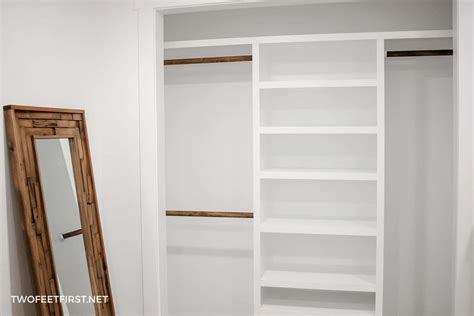 Build Closet Organizer by How To Build An Easy Diy Closet Organizer Build To