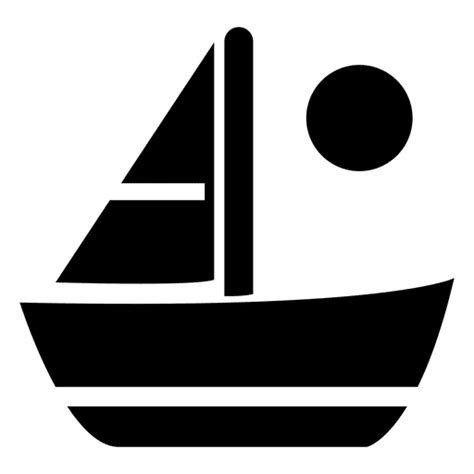 Sailboat Icon Transparent by Sailboat Flat Icon Transparent Png Svg Vector