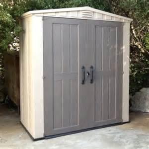keter factor 6 x 3 ft storage shed storage sheds at