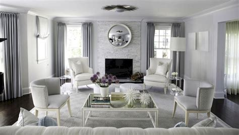 70 Stunning Gray And White Living Room Decor Ideas Round