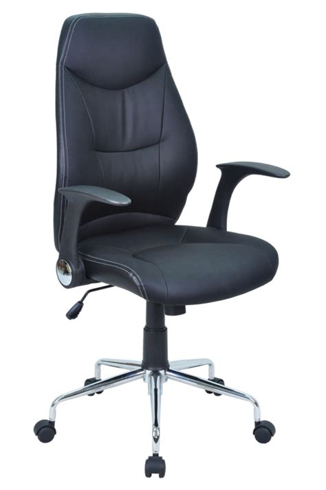 basika bureau fauteuil de bureau brontes noir
