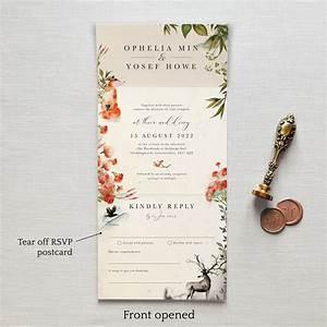 once upon a time wedding invitation feel good wedding With 4 in 1 wedding invitations