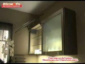 Hängeschrank Glas Lifttür : k che co h ngeschrank mit liftt r in youtube ~ Orissabook.com Haus und Dekorationen