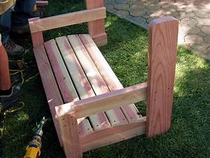 How to Build a Freestanding Arbor Swing how-tos DIY