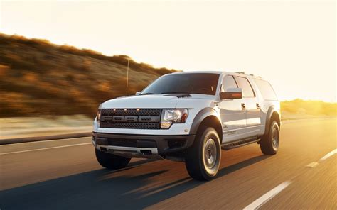 hennessey ford velociraptor suv wallpaper hd car