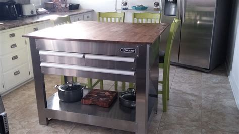 kitchen island design tool tool box island with butcher block top kitchen island