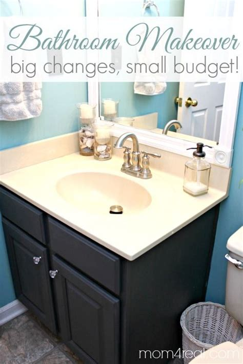 Small Bathroom Makeovers On A Budget by Best 25 Budget Bathroom Makeovers Ideas On