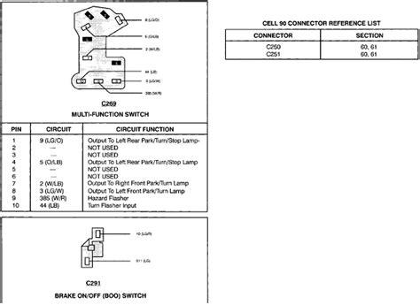 Wiring Harnes 94 Ford Ranger by 1994 Ranger Brake Lights Were Working Intermitantly Now