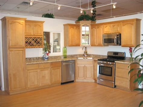kz cabinet and san jose canadian maple raised cabinets with persa golden granite