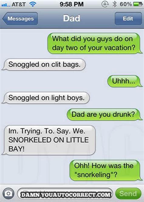 crazy autocorrects texts