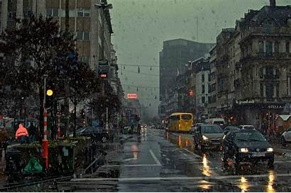 Rain Desktop Wallpapers Aesthetic York Season Longwallpapers