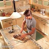 counter top tile Installing Tile Countertops | The Family Handyman