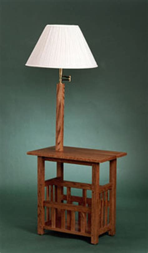 wood end table with l attached end table with l attached warisan lighting