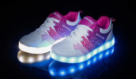 kids shoes with lights 2015 fashion shining glowing kid simulation led light up