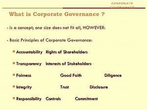 Corporate Governance Essay At The Report Corporate Governance Essay  Corporate Governance Essay Example