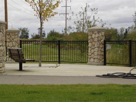 fences and gates fencing gates edmonton south side ornamental