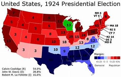 Election Presidential 1928 1924 Democrats Realignment South
