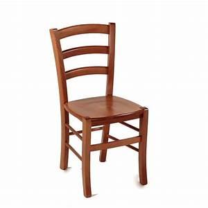 Chaise En Bois : chaise en bois rustique avec assise bois broc liande 4 ~ Melissatoandfro.com Idées de Décoration