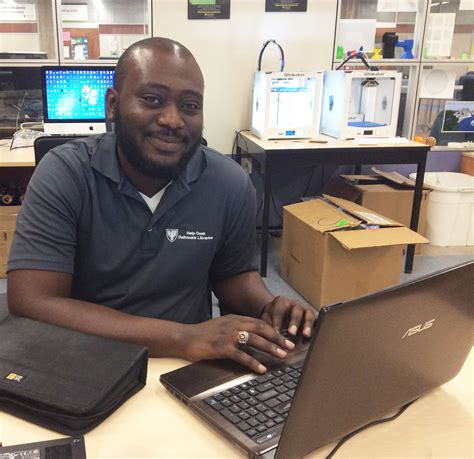 Meet Help Desk Technician Norbert Addo