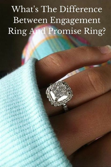 promise ring engagement ring