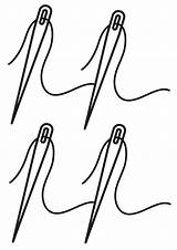 Needle Coloring Needle2 sketch template