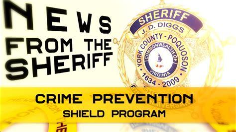 News from the Sheriff - Crime Prevention - Shield Program ...