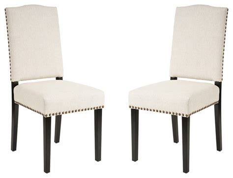 stuart dining chair set of 2 transitional dining