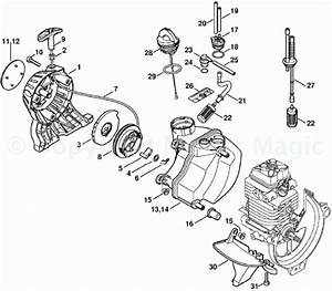 Stihl Weed Eater Fs 45 Parts Diagram