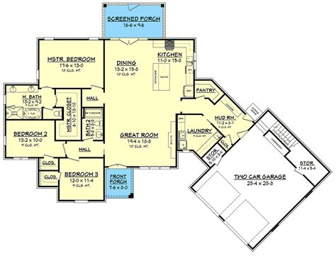 Floor Plans Open Concept by Plan 51776hz Ultimate Open Concept House Plan With 3