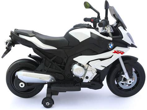 rastar bmw sxr  motorcycle white