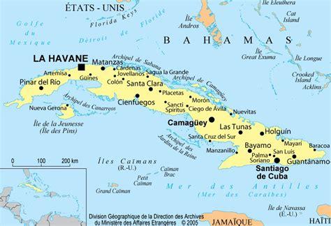 Carte Du Monde Cuba by Cuba Informations G 233 Ographiques Et Cartes