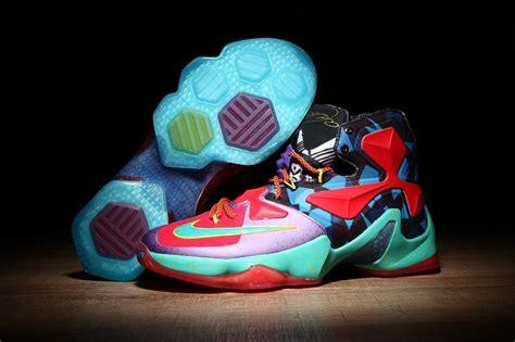Nike Lebron 13 Shoes Flowers Mens Nike Lebrons James Basketball Shoes SD40