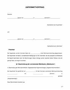 Kündigungsfrist Mietvertrag Beispiel : mietvertrag muster vorlage ~ Yasmunasinghe.com Haus und Dekorationen