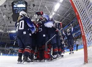 USA wins women's Winter Olympics ice hockey gold in shootout