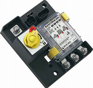 Safetyhub 250 Fuse Block And Solenoid With Manual Control