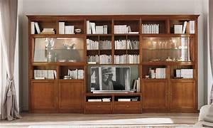 Meuble Bibliothèque Bois : bibliotheque modulable decoration interieur ~ Teatrodelosmanantiales.com Idées de Décoration