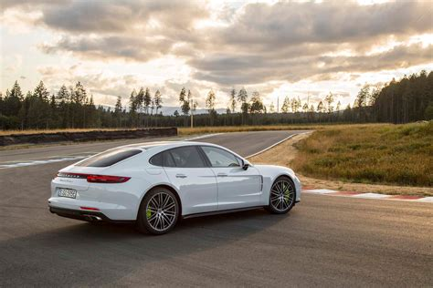 2018 Porsche Panamera Turbo S Ehybrid First Drive Review