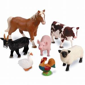 Jumbo Farm Animals from Learning Resources   WWSM