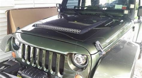 jeep wrangler ram air hood jeep rk sport ram air hood